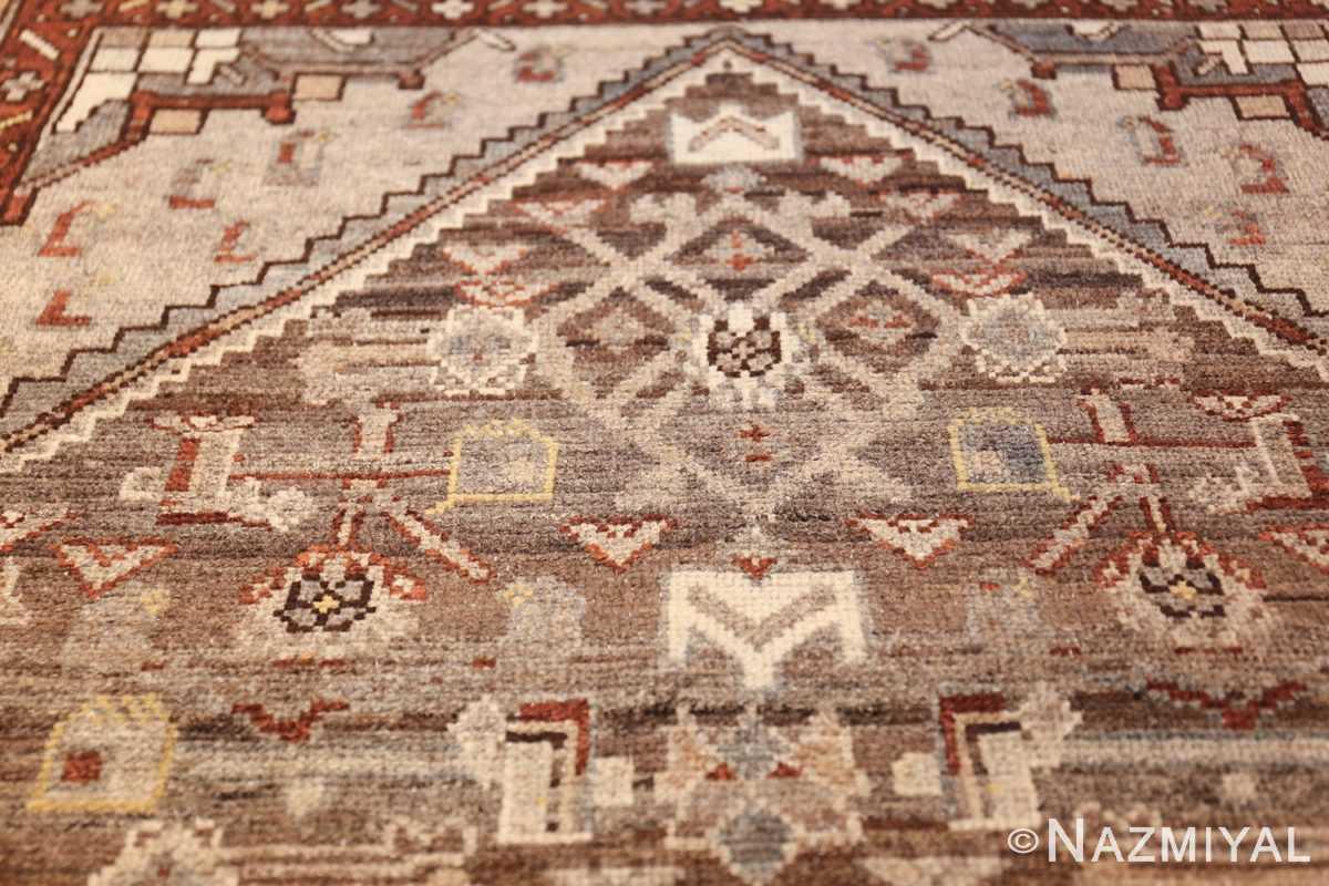 geometric designed antique tribal malayer persian runner rug 49629 shape Nazmiyal