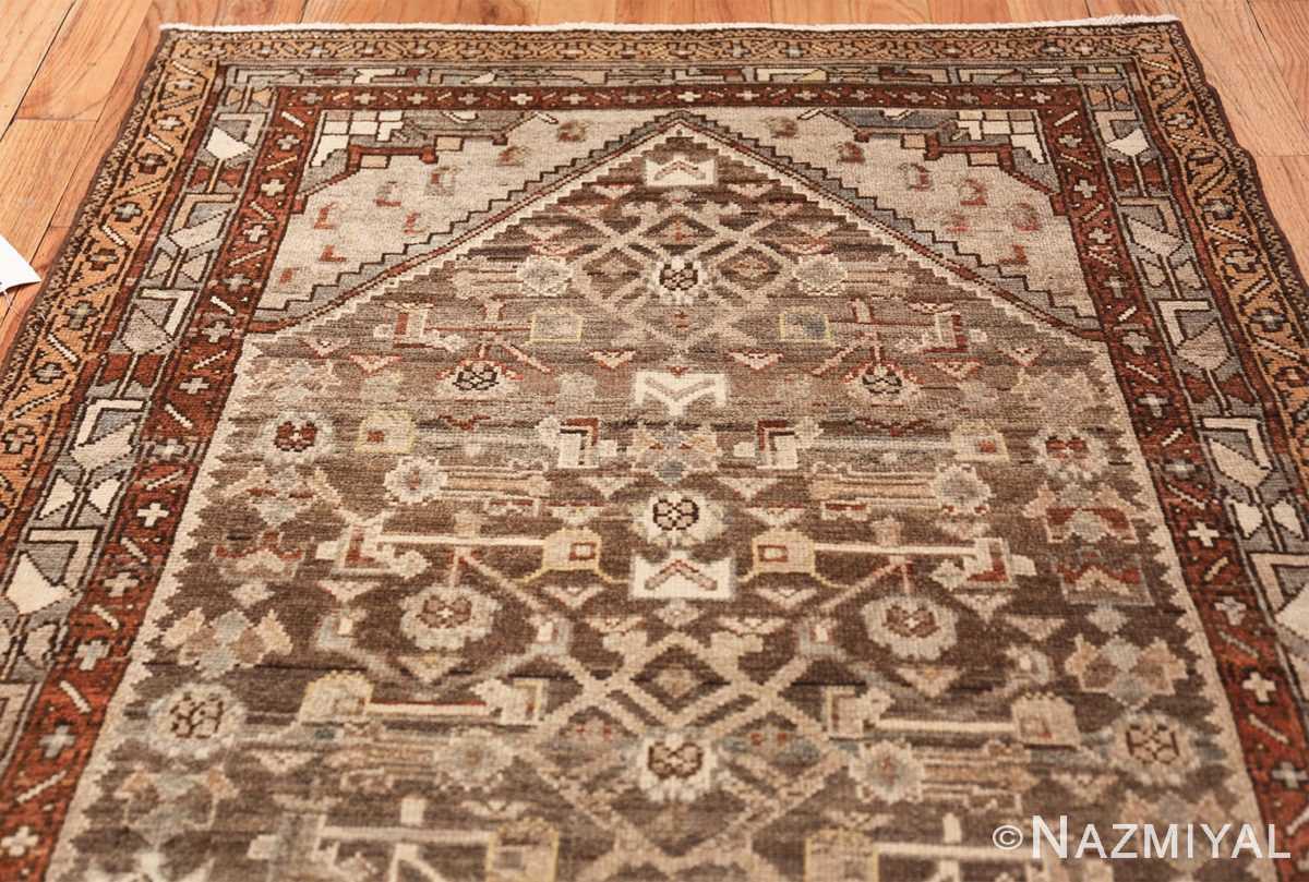 geometric designed antique tribal malayer persian runner rug 49629 top Nazmiyal