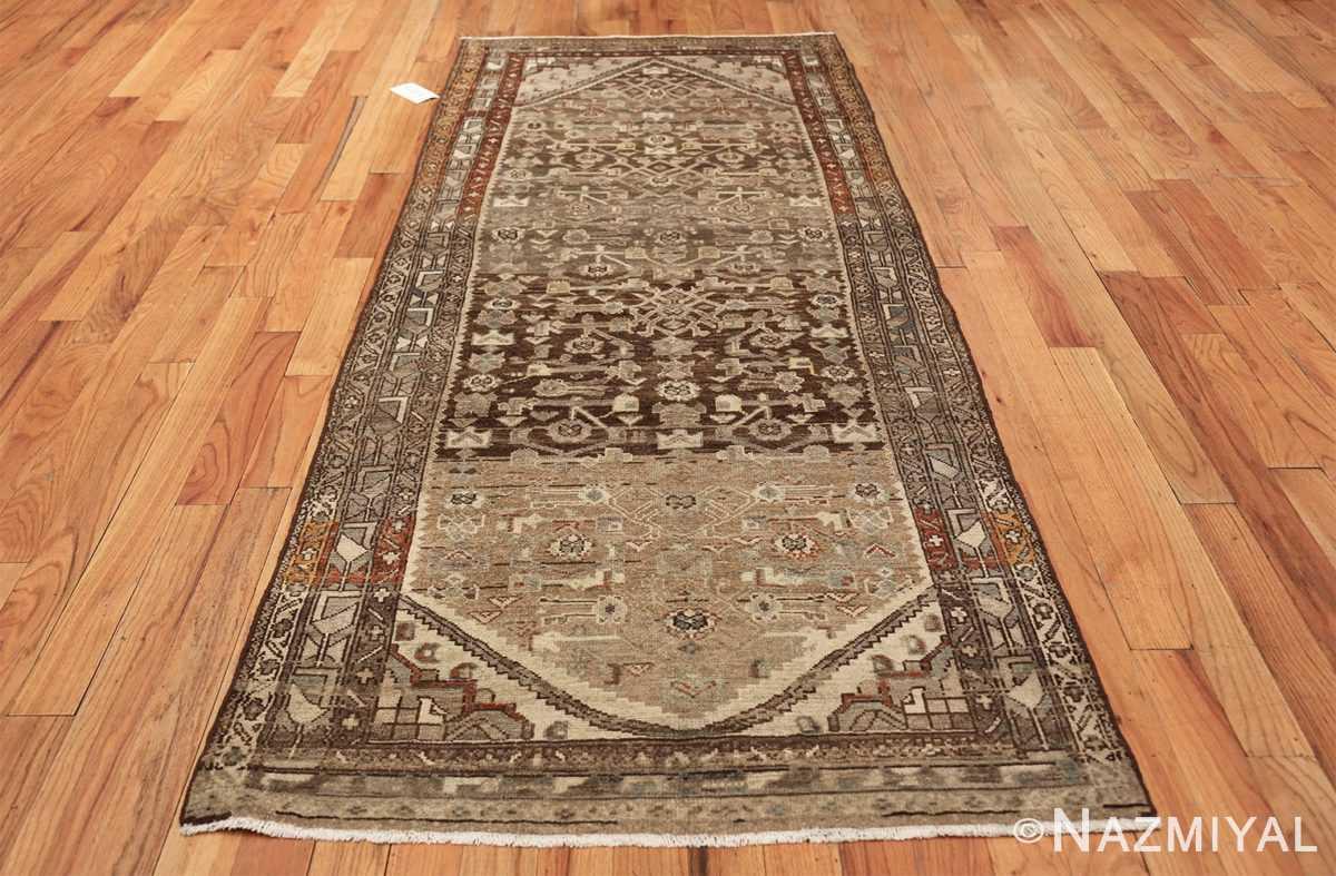 geometric designed antique tribal malayer persian runner rug 49629 whole Nazmiyal