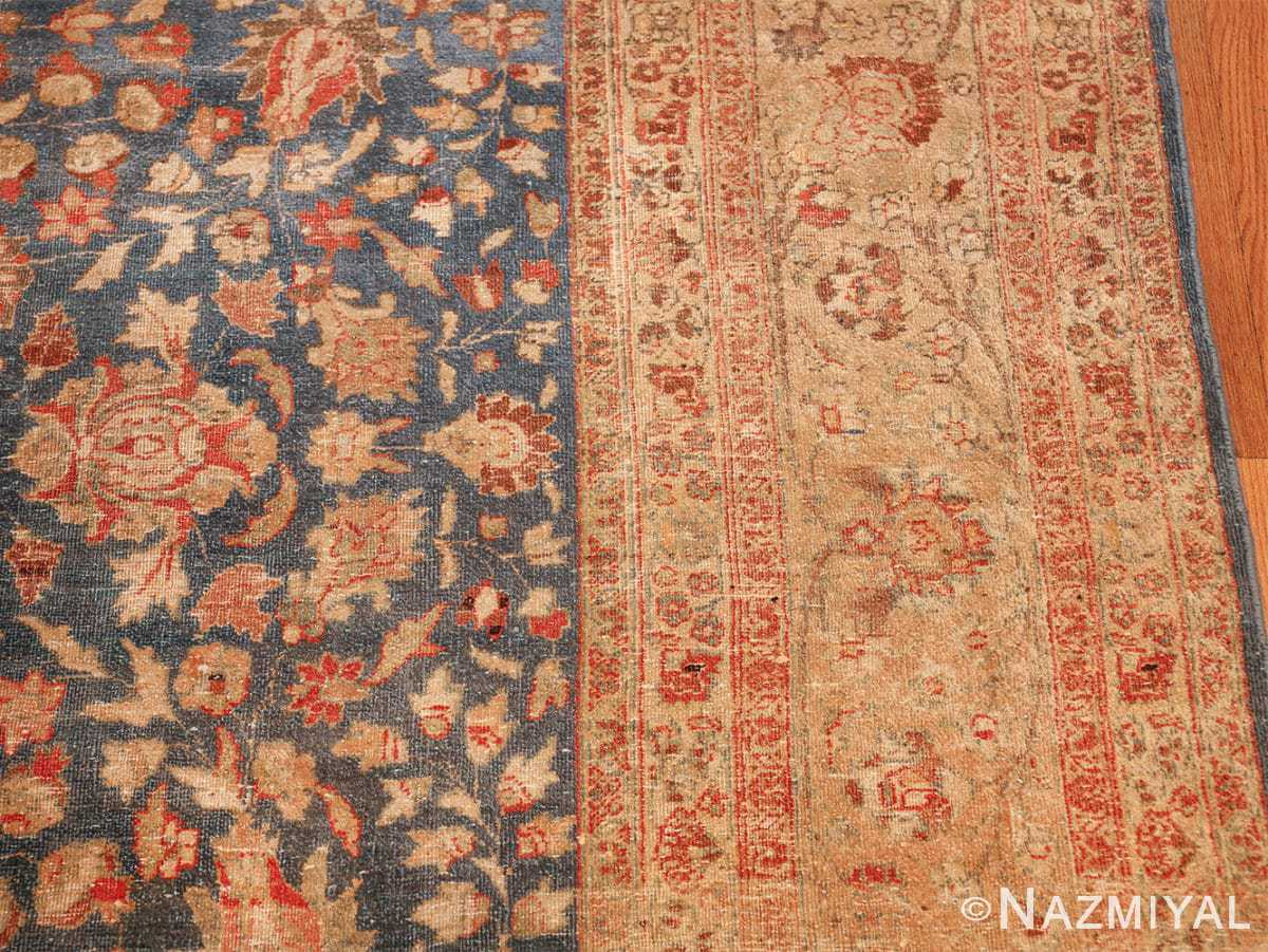 gray background antique khorassan persian rug 49634 border Nazmiyal