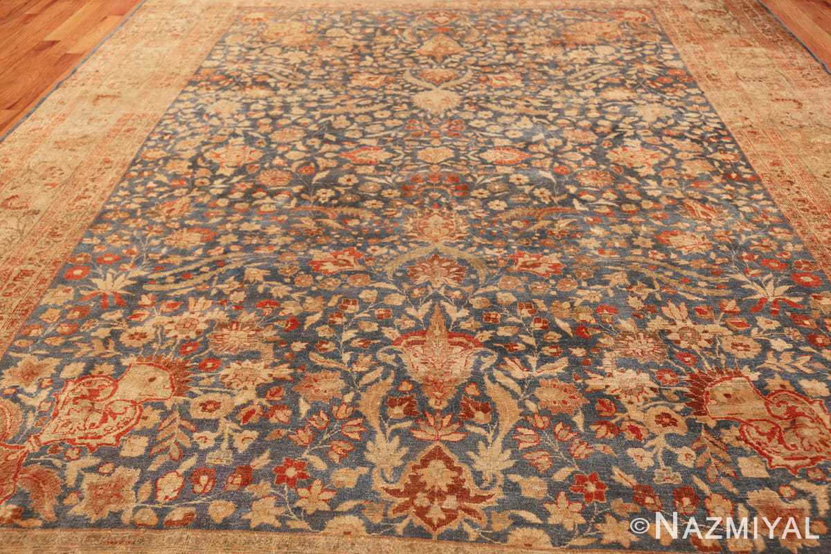 gray background antique khorassan persian rug 49634 field Nazmiyal