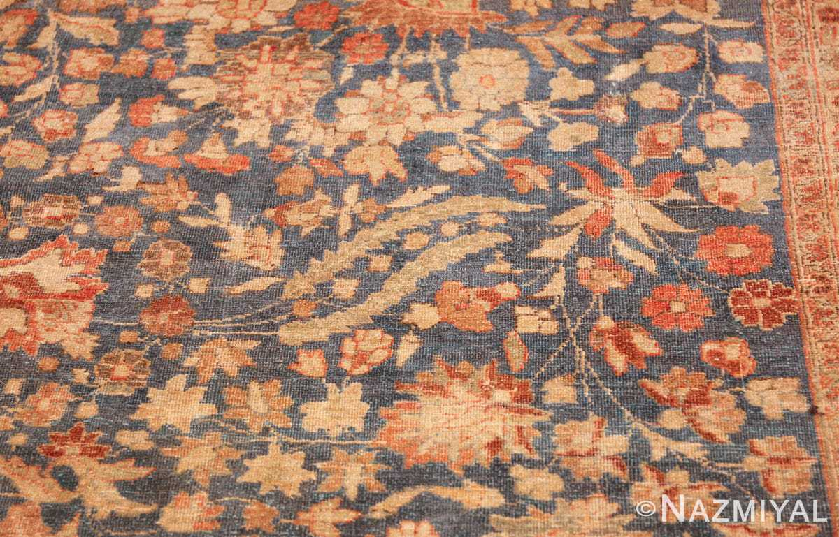 gray background antique khorassan persian rug 49634 leaves Nazmiyal