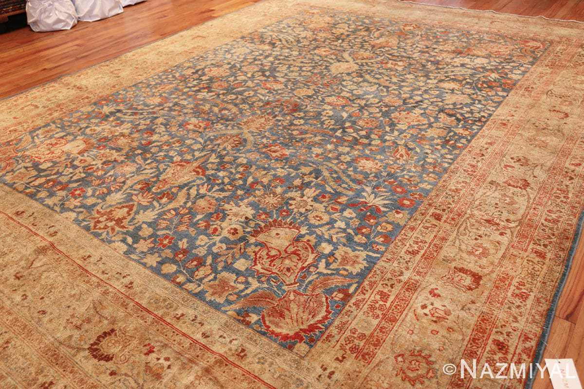 gray background antique khorassan persian rug 49634 part Nazmiyal