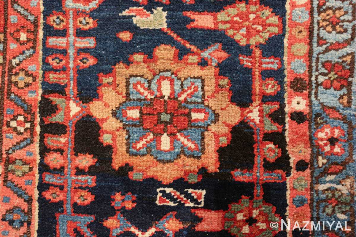 large antique geometric heriz persian rug 49654 one Nazmiyal
