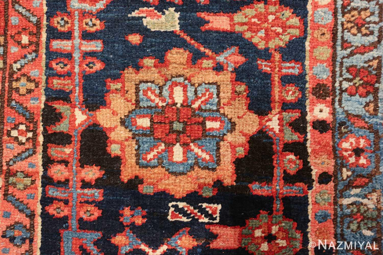 large antique geometric heriz persian rug 49654 one Nazmiyal