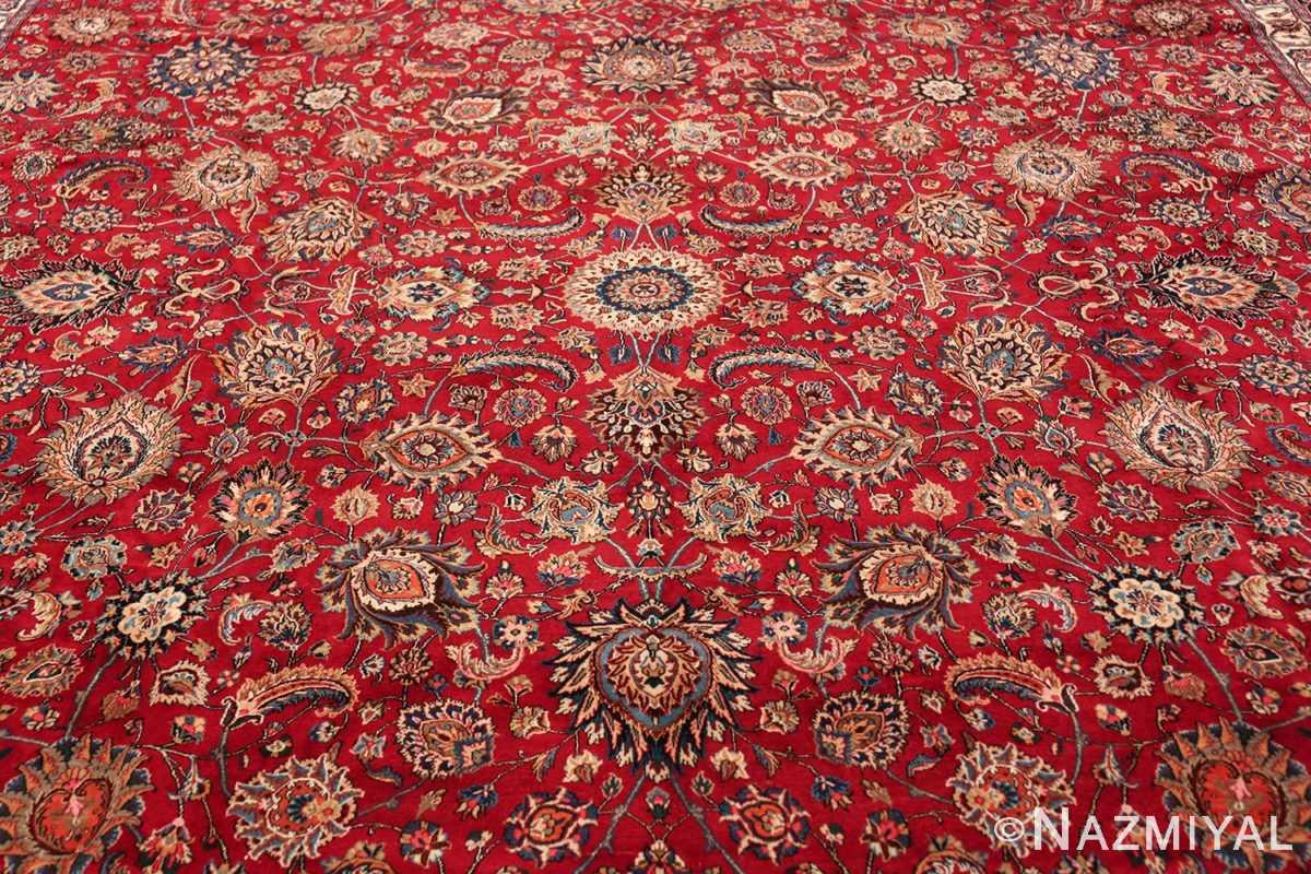 large silk and wool vintage khorassan persian rug 60036 middle Nazmiyal