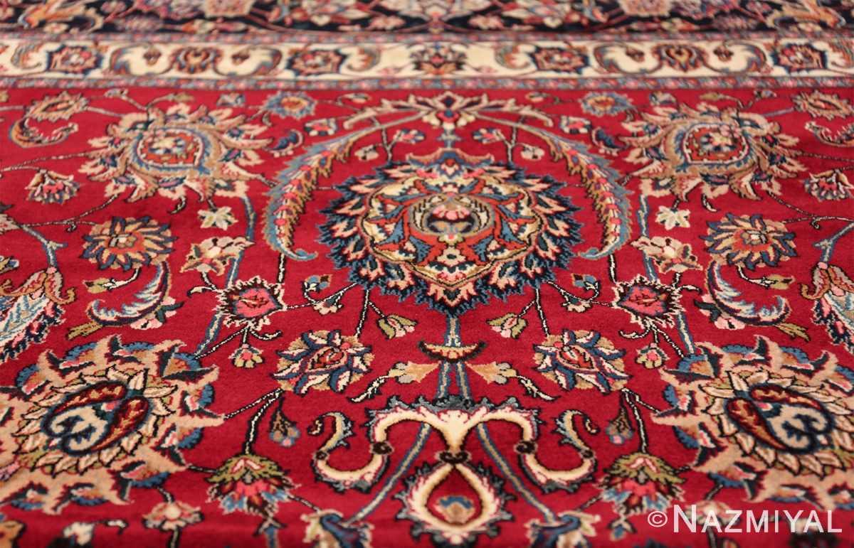 large silk and wool vintage khorassan persian rug 60036 top Nazmiyal