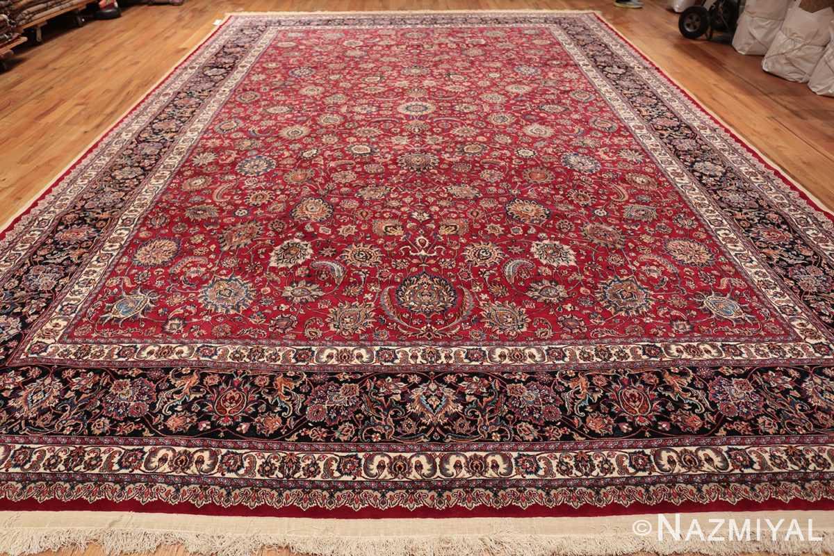large silk and wool vintage khorassan persian rug 60036 whole Nazmiyal