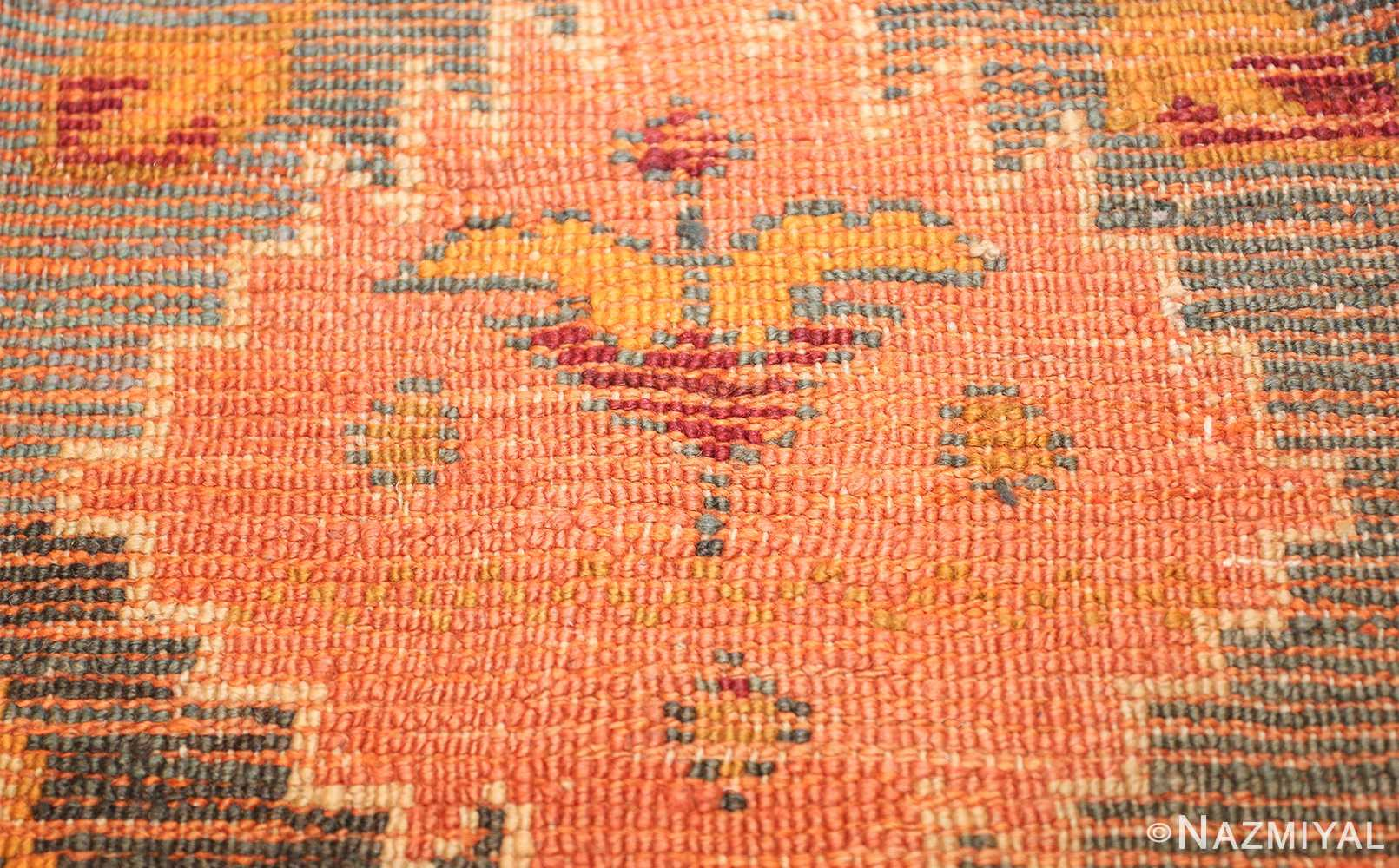 oversized antique oushak turkish rug 49637 knots Nazmiyal