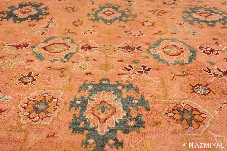 oversized antique oushak turkish rug 49637 middle Nazmiyal