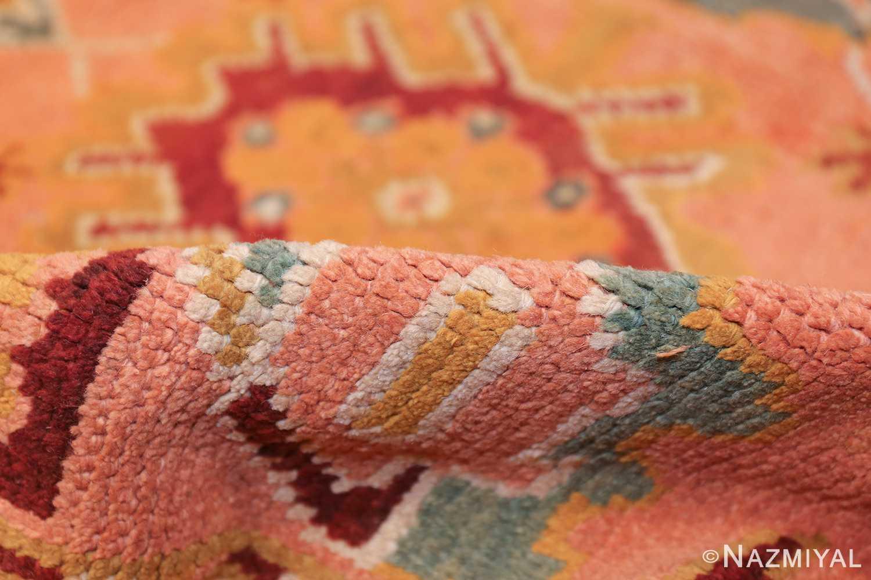 oversized antique oushak turkish rug 49637 pile Nazmiyal