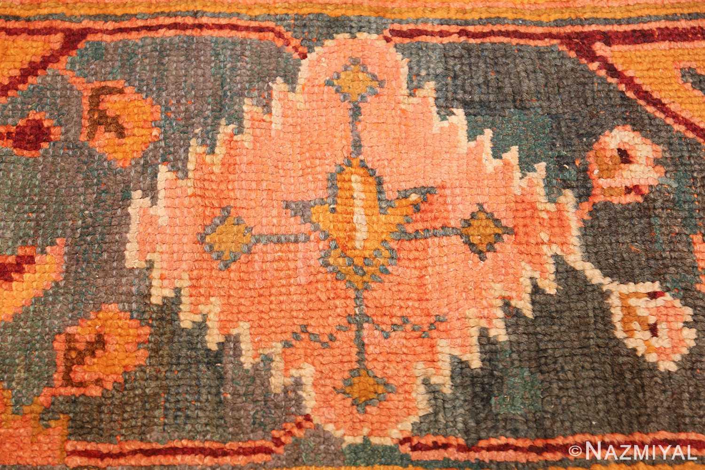 oversized antique oushak turkish rug 49637 pink Nazmiyal