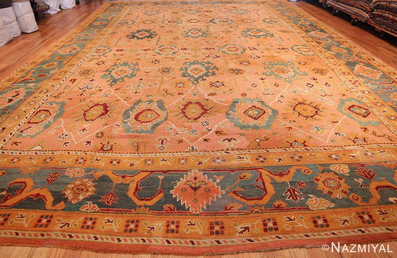 oversized antique oushak turkish rug 49637 whole Nazmiyal