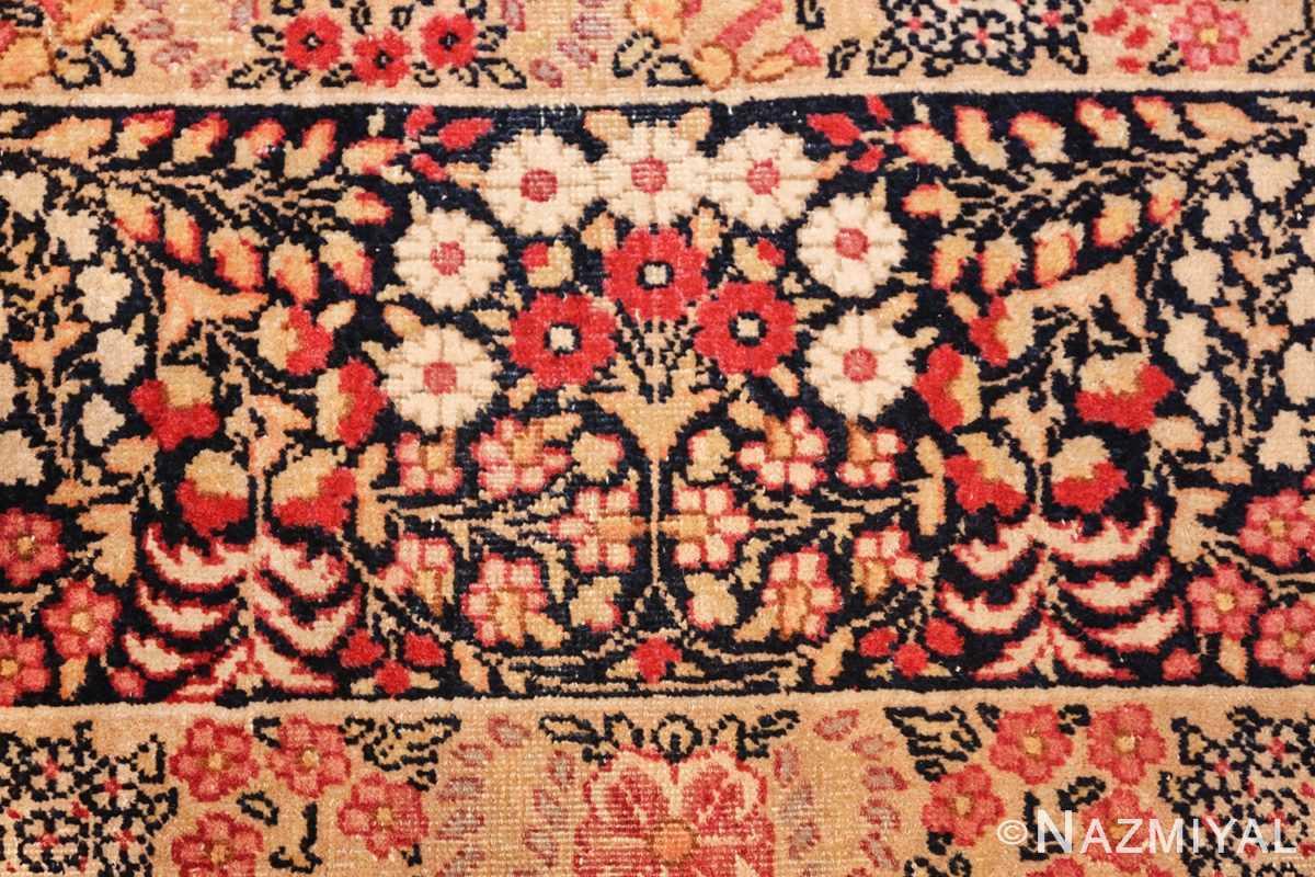 small size antique kerman persian rug 49604 bunch Nazmiyal