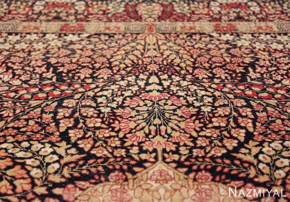 small size antique kerman persian rug 49604 tiara Nazmiyal