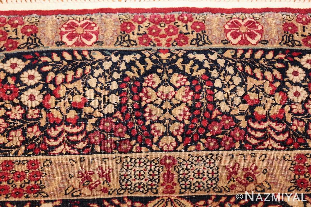 small size antique kerman persian rug 49604 top Nazmiyal