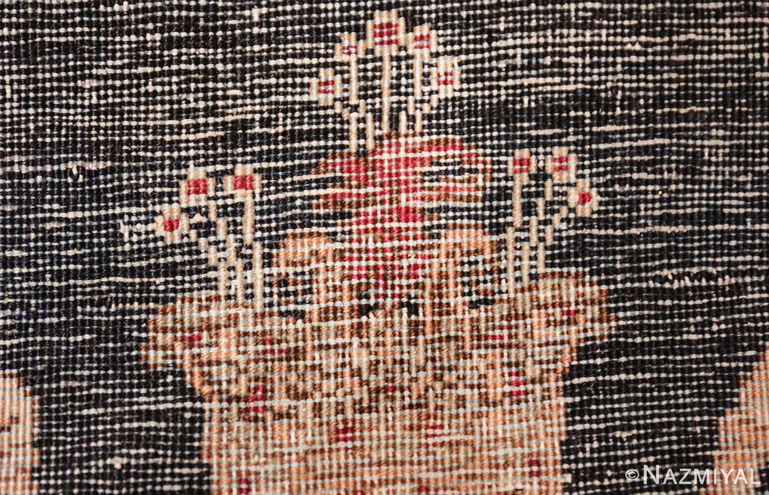 small size antique kerman persian rug 49610 knots Nazmiyal