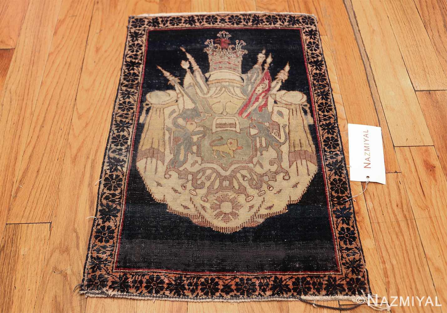 small size antique kerman persian rug 49610 whole Nazmiyal