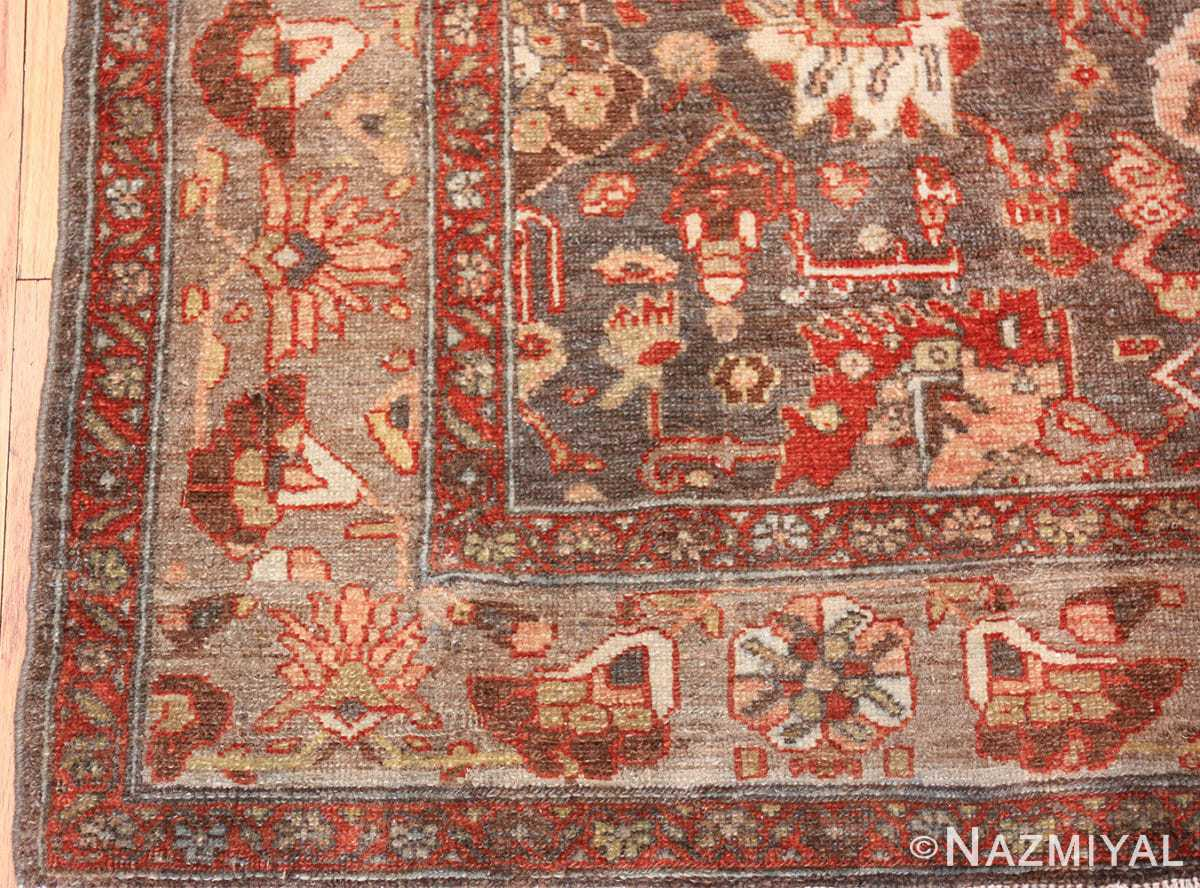 small size antique malayer persian rug 49628 corner Nazmiyal
