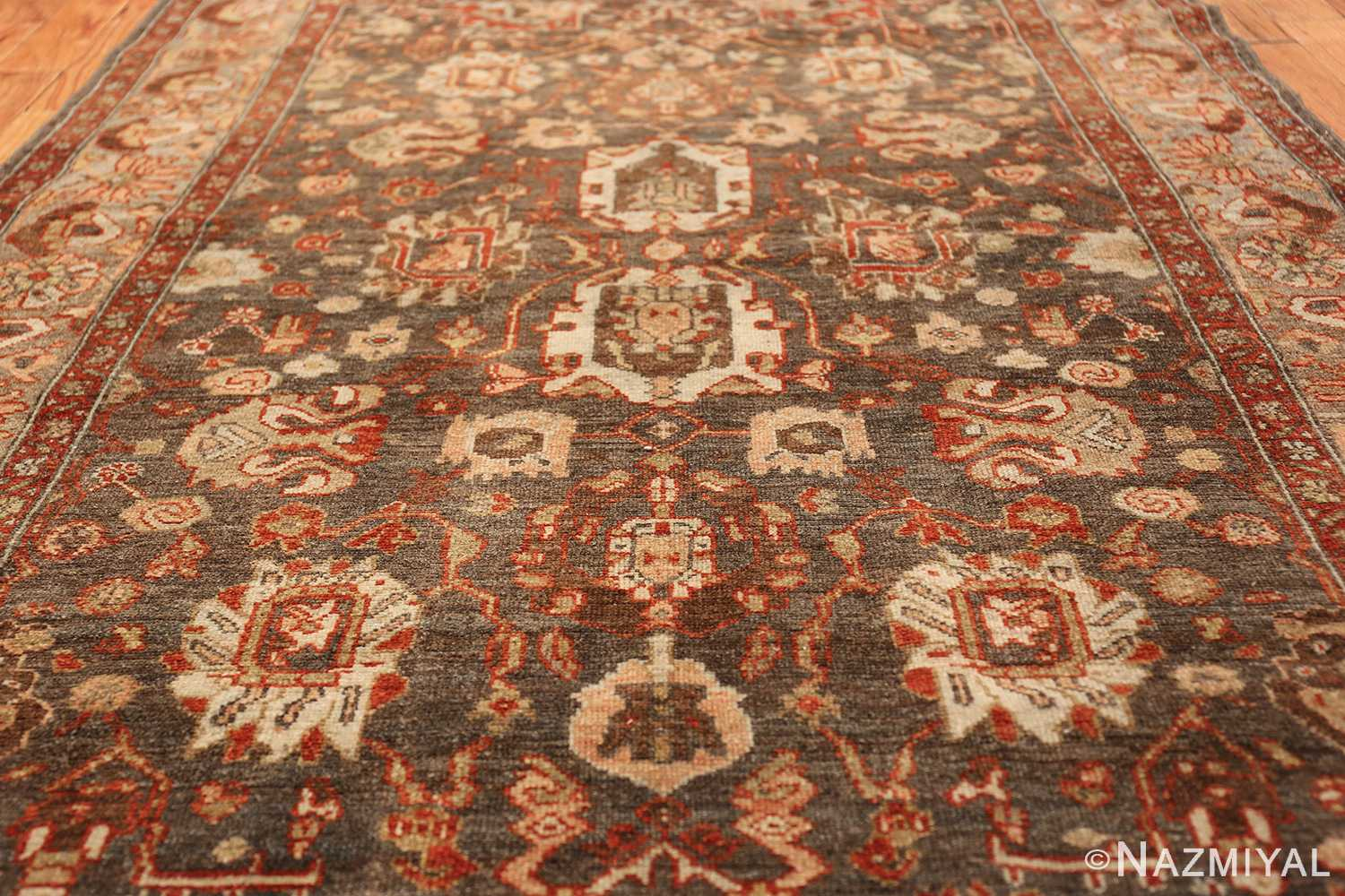 small size antique malayer persian rug 49628 field Nazmiyal