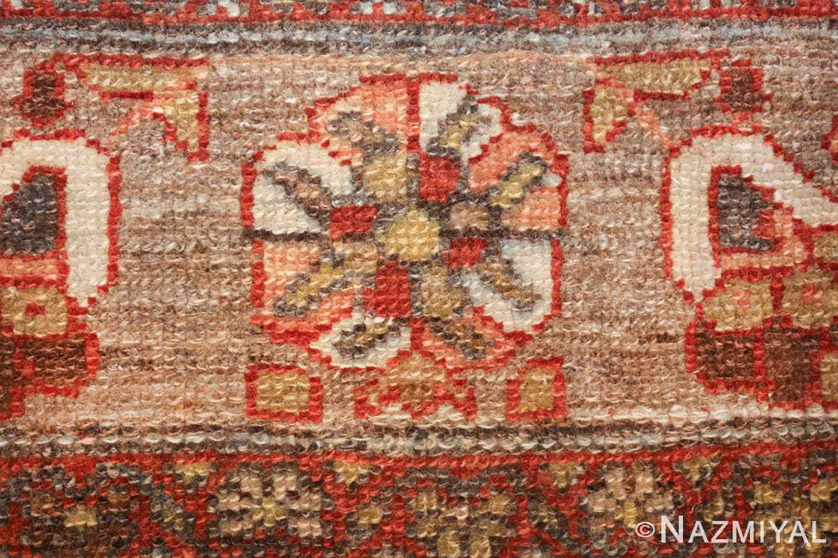 small size antique malayer persian rug 49628 flower Nazmiyal