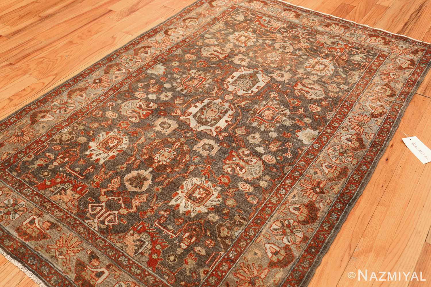 small size antique malayer persian rug 49628 side Nazmiyal