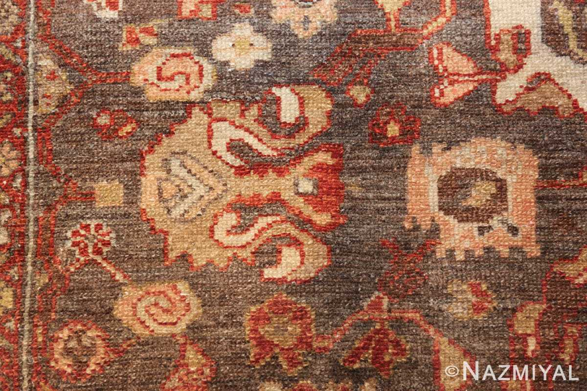 small size antique malayer persian rug 49628 yellow Nazmiyal