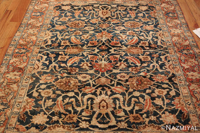 small size antique tabriz persian rug 49646 feild Nazmiyal