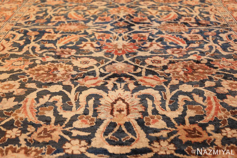 small size antique tabriz persian rug 49646 field Nazmiyal