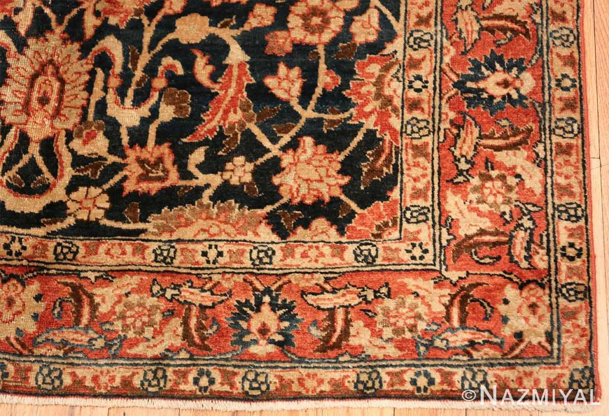 small size antique tabriz persian rug 49646 part Nazmiyal
