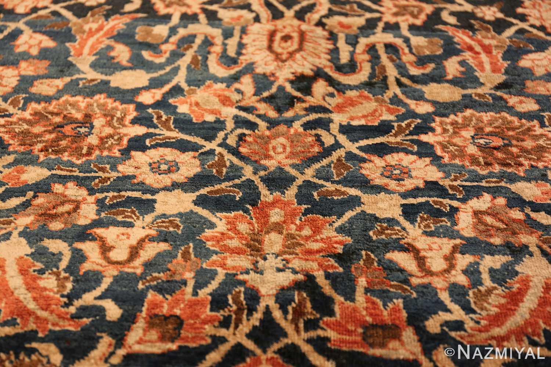 small size antique tabriz persian rug 49646 scrolls Nazmiyal