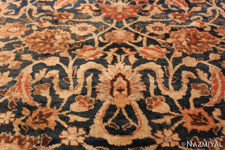 small size antique tabriz persian rug 49646 side Nazmiyal