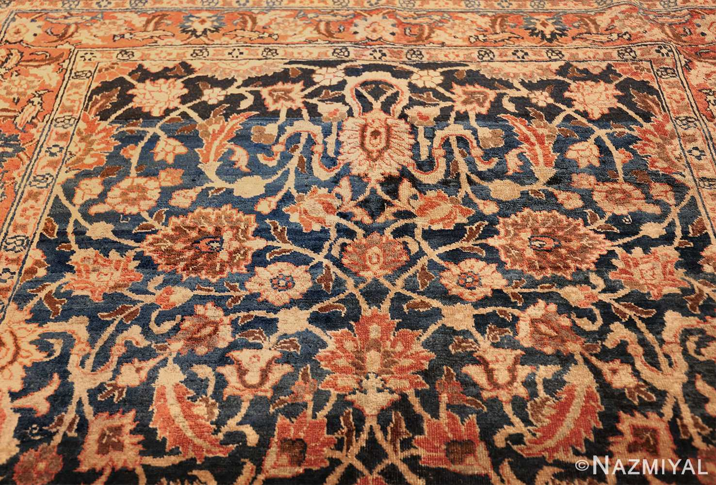 small size antique tabriz persian rug 49646 top Nazmiyal