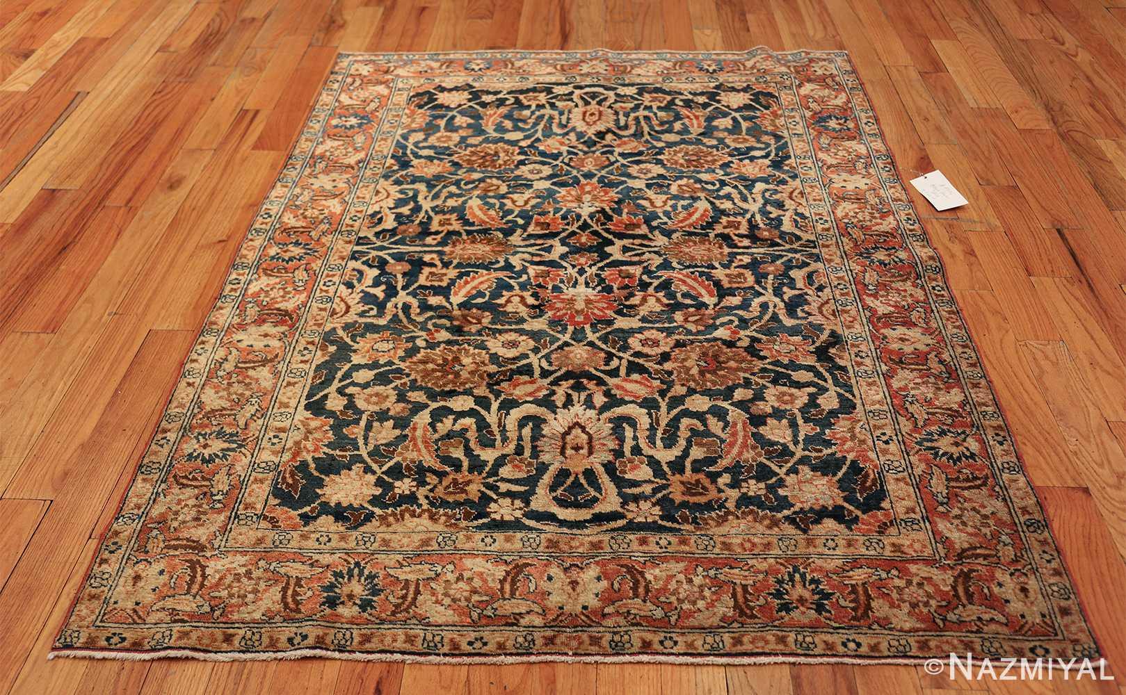 small size antique tabriz persian rug 49646 whole Nazmiyal