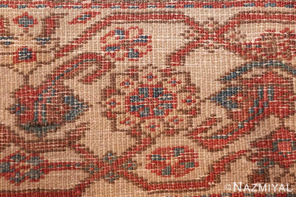 square antique bakshaish persian rug 49656 knots Nazmiyal