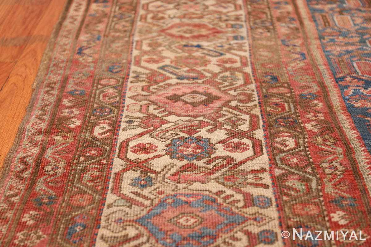 square antique bakshaish persian rug 49656 lines Nazmiyal