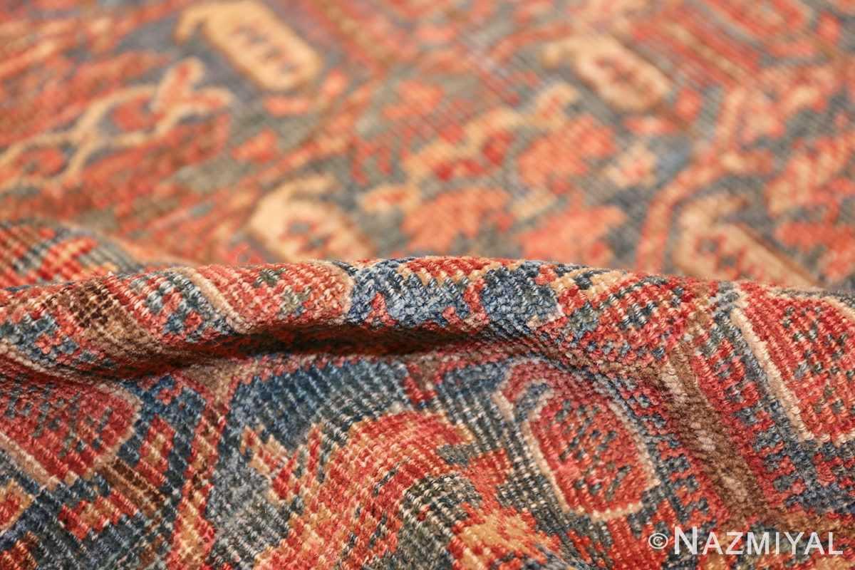 square antique bakshaish persian rug 49656 pile Nazmiyal