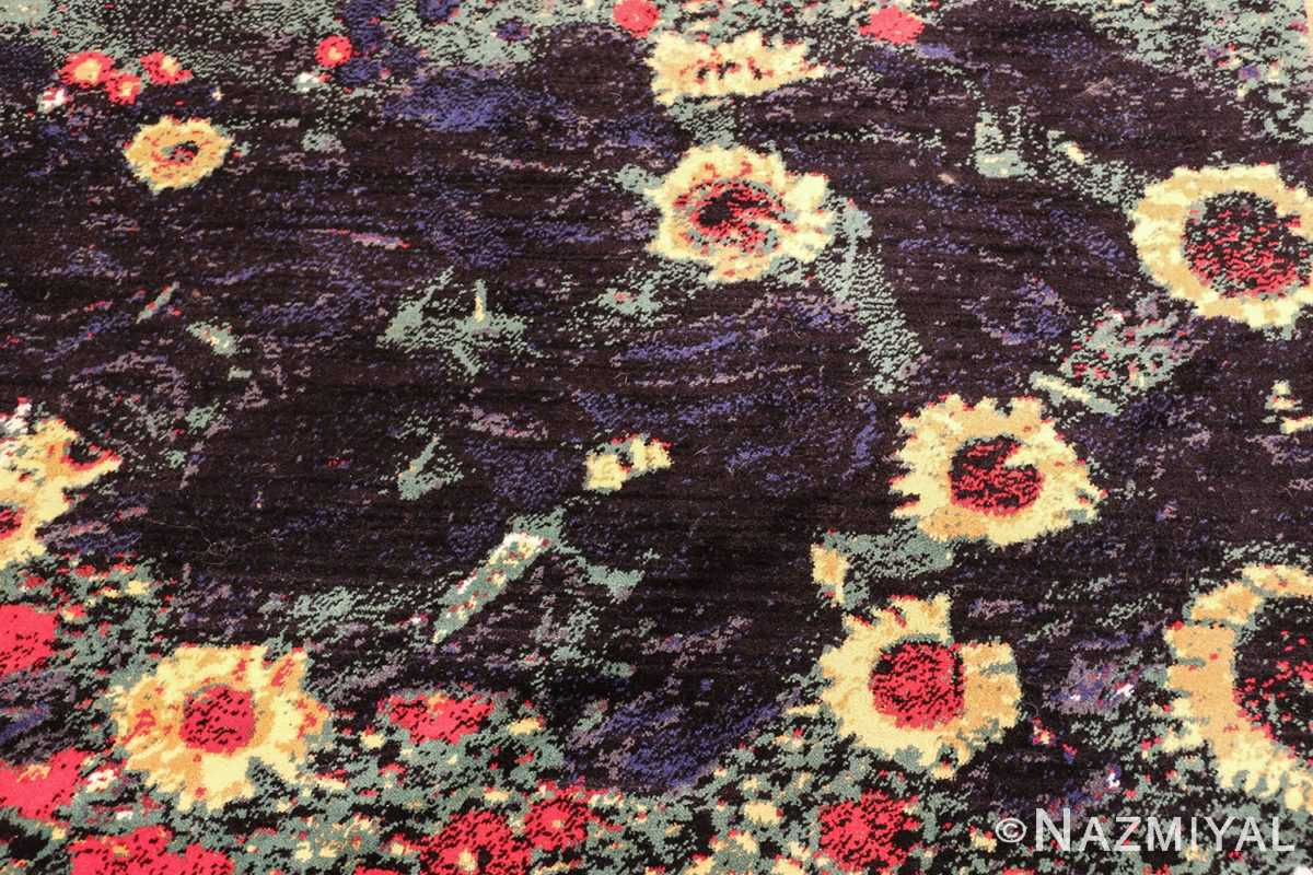 vintage flower garden design scandinavian rug by gustav klimt 49661 lake Nazmiyal