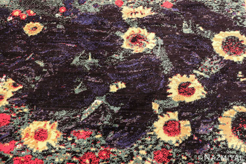 vintage flower garden design scandinavian rug by gustav klimt 49661 lake Nazmiyal
