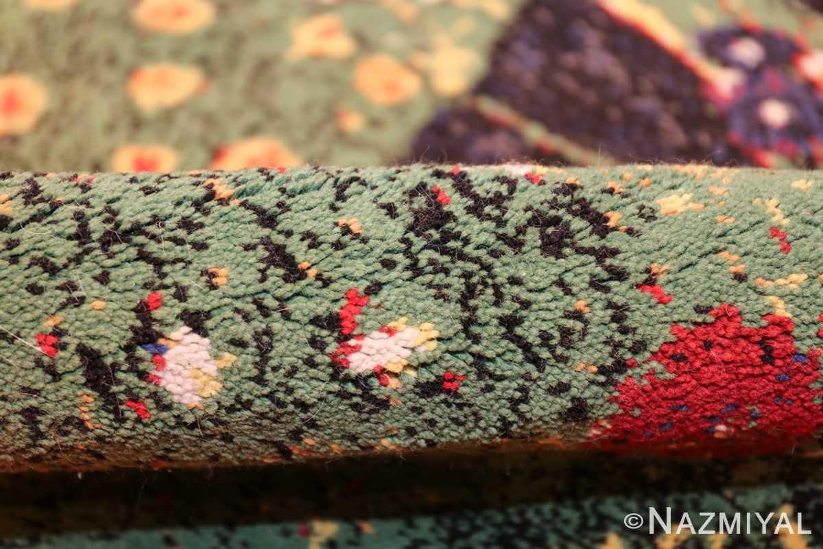 vintage flower garden design scandinavian rug by gustav klimt 49661 pile Nazmiyal