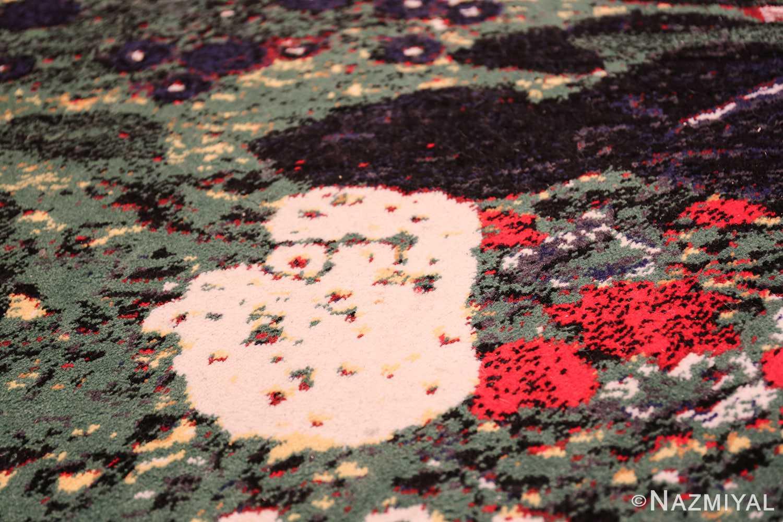 vintage flower garden design scandinavian rug by gustav klimt 49661 rooster Nazmiyal