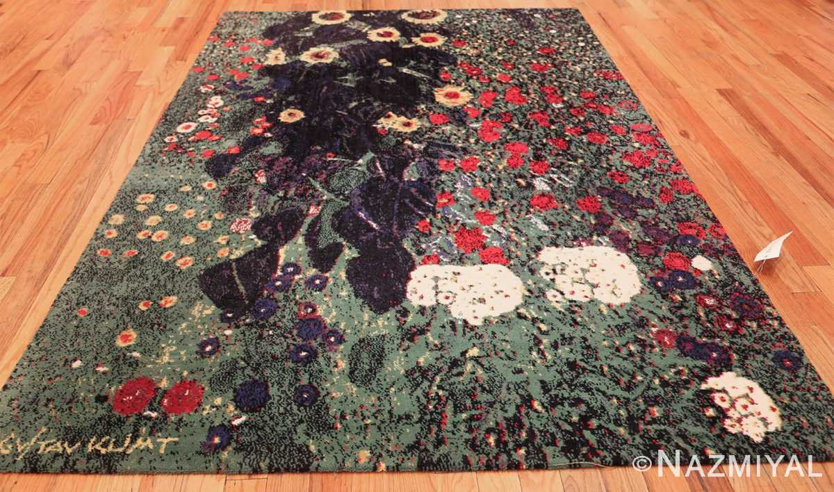 vintage flower garden design scandinavian rug by gustav klimt 49661 whole Nazmiyal