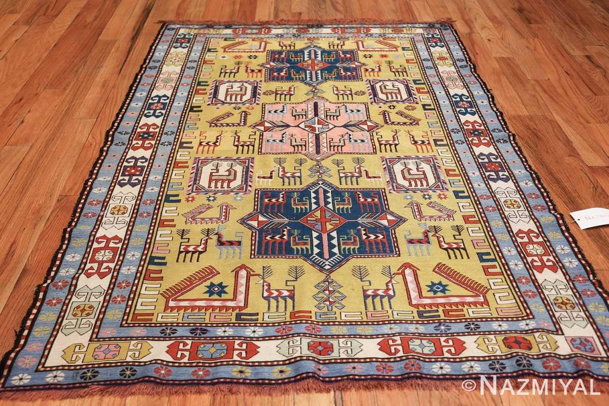 vintage silk soumak caucasian 49609 whole Nazmiyal