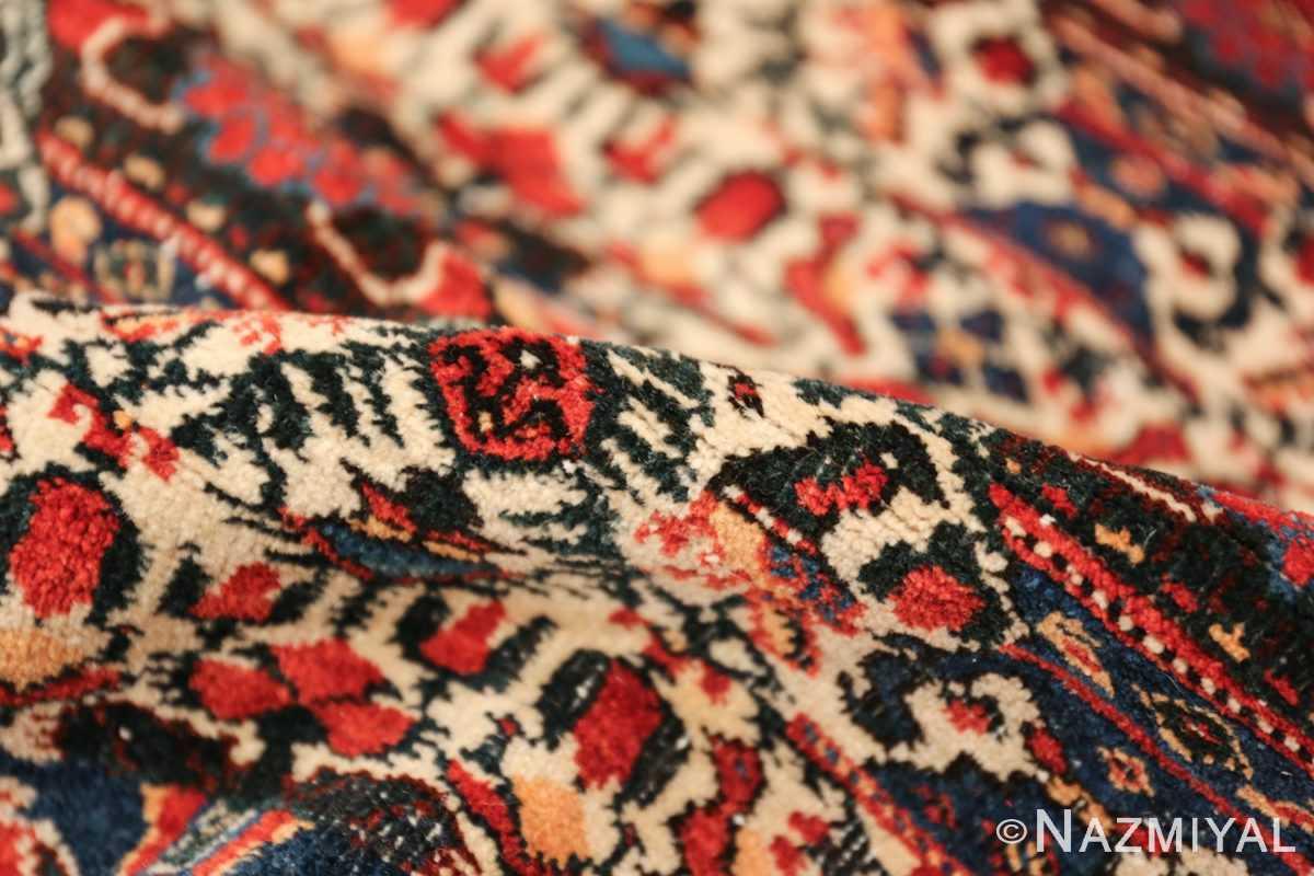 vintage small size farahan persian rug 49645 pile Nazmiyal