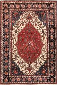 Small Size Fine Antique Persian Sarouk Farahan Rug 49673 by nazmiyal