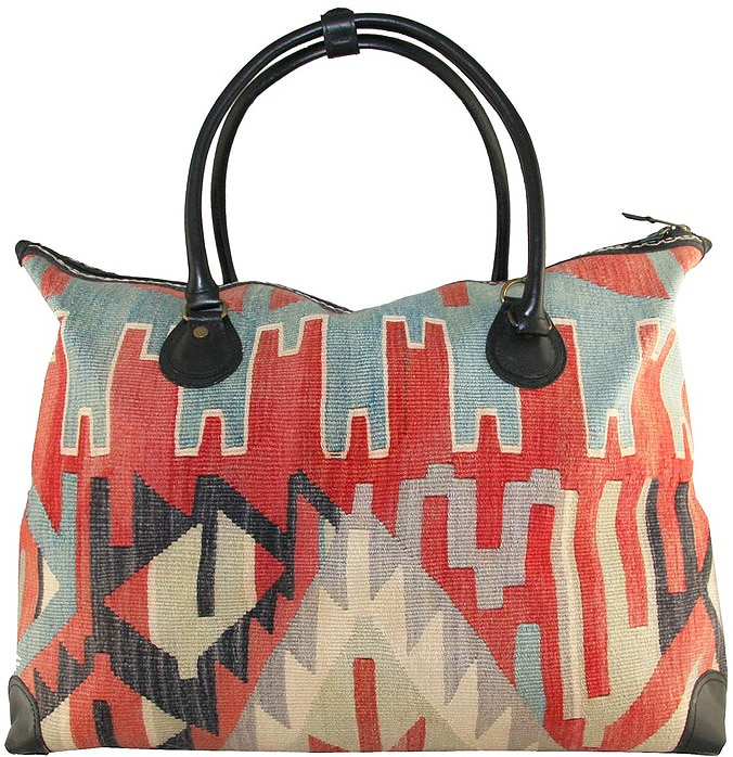 Boho Kilim Bag Fashion by Nazmiyal