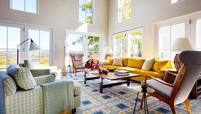 Home Decorating With Scandinavian Rugs | Interior Design Blog