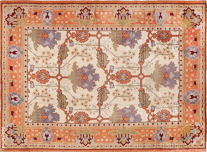 Gavin Morton Designed Arts and Crafts Rug by Nazmiyal