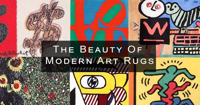 Modern Art Rugs by nazmiyal