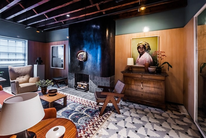 Interior Decor With Vintage Marta Maas Rug - Nazmiyal